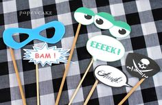 photo booth props free printables