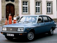 Lancia Beta. Can't be many left. My first ever car journey was in one of these-from the hospital where I was born to my home, June 1974.