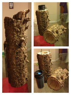 Log geocache.  Cool.....I actually found one like this one time!!  Helps if your GPS is spot on~ #geocaching