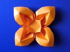 Origami poesie di carta: Fiore bombato 3   Francesco Guarnieri,   instructions