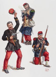 French Armed Forces, French Foreign Legion, Crimean War, Imperial Army, Military Figures, Second Empire, French Empire, French Army, American Civil War