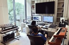 Where it all created. • • #DDAudio #DoubleDeerMusic More