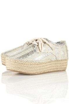 espadrilles with a sparkle