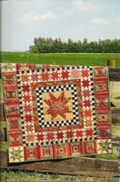 Country Threads :: Rotary Cut and Pieced Quilt Patterns :: 30 Stars for 30 Years Wall Quilt Pattern