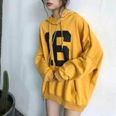Pullover Hoodie Sweatshirt Woman 2018 Ulzzang Harajuku Print Hooded Sweatshirts Women Casual Hoodies Black M Cute Fashion, Look Fashion, Fashion Outfits, Hoodie Outfit, Sweater Hoodie, Ulzzang Fashion, Korean Fashion, Trendy Hoodies, Mode Streetwear