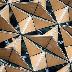 A close up of Al Bahar Towers! Abu Dhabi, UAE