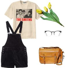 The Smiths by cornelia-poeschl on Polyvore featuring polyvore fashion style Monki Spitfire
