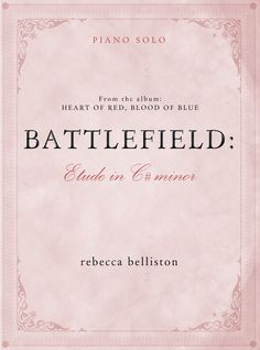 MP3 and sheet music from the album Heart of Red, Blood of Blue