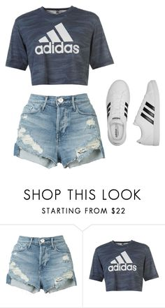 """.02"" by mziecellerino on Polyvore featuring 3x1 and adidas"