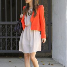 Love! Stealing this idea to get more use out of my bright orange Ralph Lauren blazer!