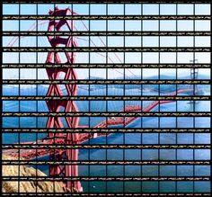 Thomas Kellner, San-Francisco, 2004. Photographie argentique couleur. 90 x 90 cm.<br><br>Courtesy Galerie Vrais Rêves, Lyon, © Thomas Kellner