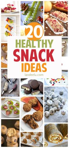 Healthy recipes for snacks!  I'm always looking for good healthy snack ideas!  Perfect for after school, post workouts or on the go!