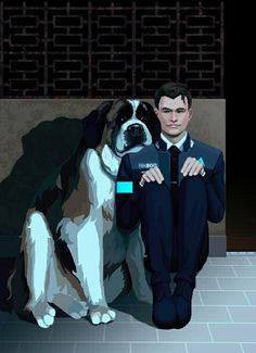 Friends: Sumo & Connor Detroit Become Human Connor, Bryan Dechart, Becoming Human, Human Art, Videogames, Dawn, Plays, Gaming, Games