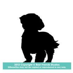shih tzu silhouettes - Google Search