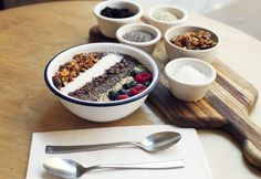 So good. So healthy. http://www.thecoveteur.com/acai-bowl-recipe-two-hands/