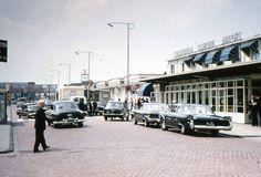 Modern Schiphol Airport 1960's Amsterdam 35mm Photo Slide.