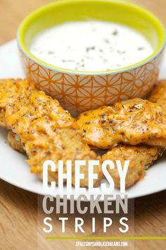 Cheesy Chicken Strips #TysonProjectAPlus AD