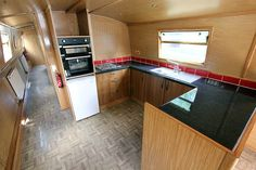 Galley on widebeam Pendragon