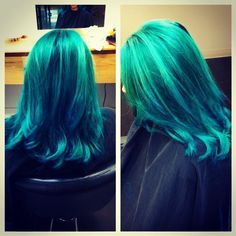 Fun hair color by Stylist Shannon MacDonald! #zonaweymouth #stylistshannonmacdonald