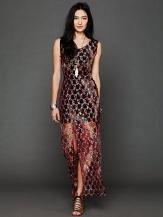 Free People Tie Dye Lace Column Dress http://www.freepeople.com/whats-new/tie-dye-lace-column-dress/