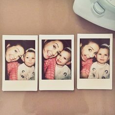 Emilia SacconeJoly is already better at posing for Polaroids than me and she is only 2 years old.