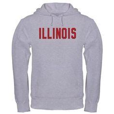 Illinois Hooded Sweatshirt