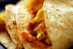 Breaking the fast with tacos | Homesick Texan-minus beans & LC tortillas