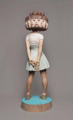 Sculpture by 彫刻家 金巻 芳俊 ー Art survivor ー