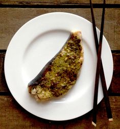 Grilled Swordfish Steak with a Pesto, Chili and Lemon Crust #swordfish ...