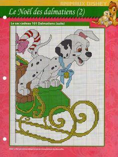 Disney 101 Dalmatians Christmas Sleigh 2/2