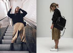 ¿Con qué estilo te quedas? La falda midi plisada en lamé ha sido una de las tendencias que más fuerte ha pegado este otoño. Si pensabas que no ibas a da