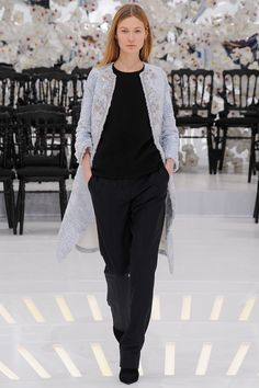 Dior Fall 2014 Couture. Read the review on Vogue.com.