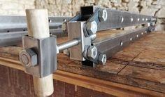 Metal Working Tools, Metal Tools, Wood Tools, Diy Tools, Woodworking Ideas Table, Woodworking Hand Tools, Woodworking Tools, Grill Design, Homemade Tools