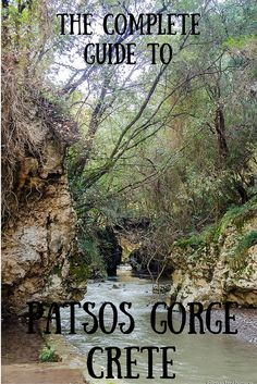 A day trip from Rethymnon Crete in Greece to Patsos Gorge and Spili village.