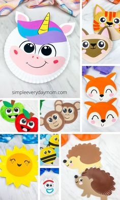 Discover all the fun things to do with paper plates with this collection of easy paper plate crafts for kids! Great for all ages including toddlers, prescho