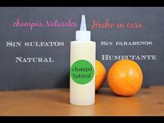LOS DOS MEJORES CHAMPÚS CASERO | coco, naranja y almendras - YouTube