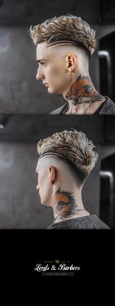 ideas for haircut masculino moicano Curly Hair Cuts, Medium Hair Cuts, Short Hair Cuts, Medium Hair Styles, Short Hair Styles, Lorde Hair, Mohawk For Men, Men Hair Color, Undercut Hairstyles