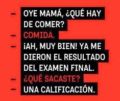 Ideas Memes En Espanol Chistosos De Whatsapp For 2019 Spanish Jokes, Funny Spanish Memes, Funny Jokes, Funny Images, Funny Photos, Best Memes, Best Quotes, Frases Humor, Funny Phrases