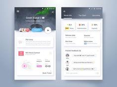 Very cool Movie app UI design by @uxgram . . . . . #app #appdesign #design #designer #dribbble #behance #iosdesign #iosinspiration #iosinterface #iphonedesign #iphoneinspiration #iphoneinterface #mobiledesign #mobileinspiration #mobileinterface #ui #ux #userinterface #userexperience #uidesign #uxdesign #interfacedesign #wireframe #digitaldesign #webdesign #materialdesign #minimalistdesign #visualdesign #userinterfacedesign #dailyui