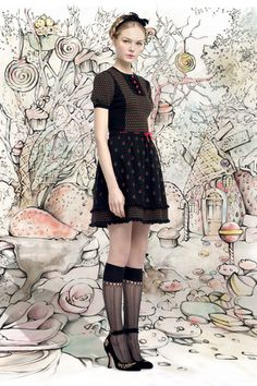 Red Valentino Fall 2013 Ready-to-Wear Collection Slideshow on Style.com