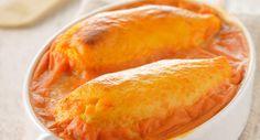 Quenelles gratinées à la sauce tomateVoir la recette des Quenelles gratinées à la sauce tomate >>