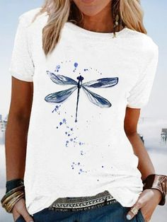Shirts & Tops, Casual T Shirts, Casual Tops, Women's Tops, Womens Fashion Online, Latest Fashion For Women, Short Sleeve Blouse, Long Sleeve Tops, T Shirts For Women