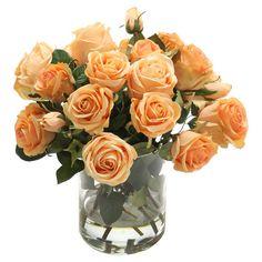 Silk Rose Arrangement at Joss & Main