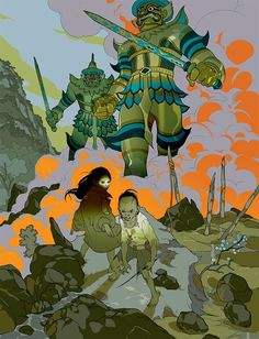 The Divine by Asaf and Tomer Hanuka & Boaz Lavie - Google Search