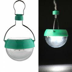 [$7.99] Portable White 7 LED Solar Power Camping Hiking Fishing Tent Lantern Light Lamp Model 2