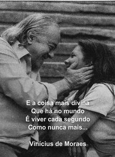 Vinicius de morais ♥ Que saudades eu tenho de Ipanema....