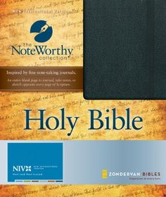 Holy Bible: New International Version, Black, Bonded Leather (The NoteWorthy Collection) Christian Movies, Christian Music, Holy Bible Niv, Good Books, My Books, New International Version, Scripture Art, Bonded Leather, Best Selling Books