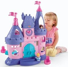 Fisher-Price Little People Disney Princess Songs Palace - Most popular Little People by Fisher Price toys for toddlers - http://www.perfect-gift-store.com/most-popular-little-people-by-fisher-price-toys-for-toddlers.html