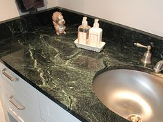 Featured Residential And Serpentine Countertop Projects Vermont Verde Antique The Beauty Of Marble
