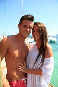 Geordie Shore old pics - Charlotte Crosby and Gaz Beadle